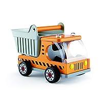 Hape Dump Truck Kid