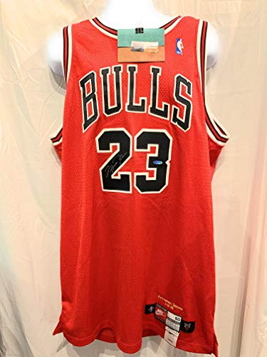 Michael Jordan Chicago Bulls Signed Autographed Authentic Final Season Limited Edition Jersey Upper Deck - Jordan Michael Authentic Jersey