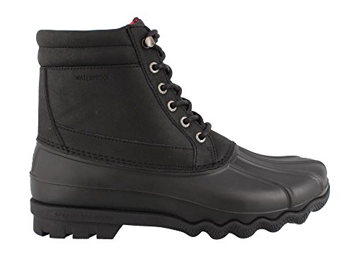 Boot Rain Sperry Black Top Men's Sider Brewster wvxU4TXRq