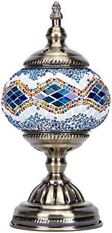 Mosaic Lamp-Handmade Turkish Mosaic Table Lamp