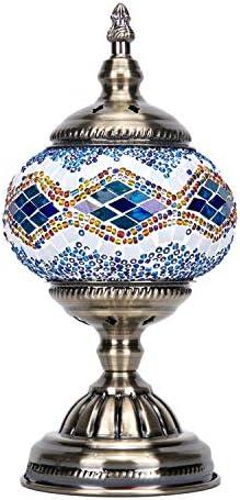 Mosaic Lamp-Handmade Turkish Mosaic Table Lamp