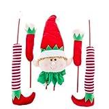 Elf Picks Christmas Tree, Garland Decoration 5 Picks
