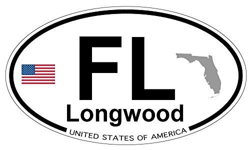 Longwood, Florida Oval Magnet