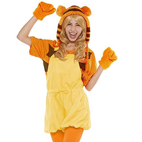(Disney Winnie The Pooh Costume - Casual Pop Tigger Costume - Teen/Women's STD Size Orange)