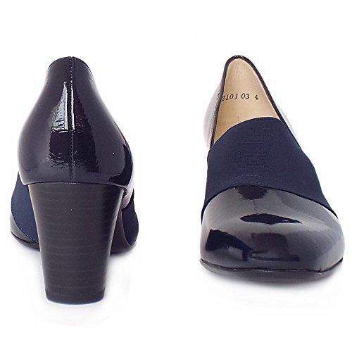 Peter Kaiser Zapatos De Alto Tribunal Superior De Dorna En Marina De Guerra De Patente NOTTE CRAKLE