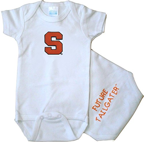 - Future Tailgater Syracuse Orange FT Baby Onesie (Newborn)