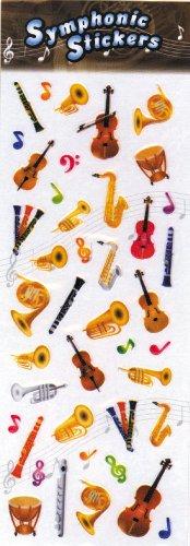 Music Stickers - Orchestral Seri...