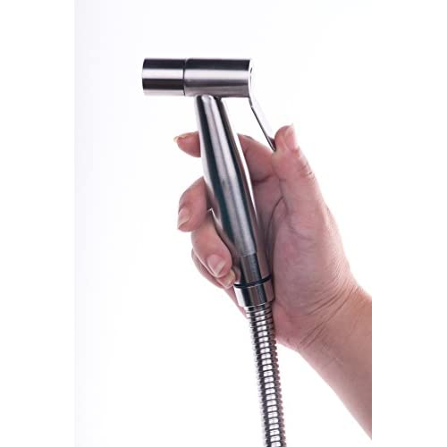 60%OFF AzureLuxe Premium Stainless Steel Hand Held Bidet Sprayer, Cloth Diaper Sprayer Shattaf - Complete Set Hand Sprayer for Bidet Toilet