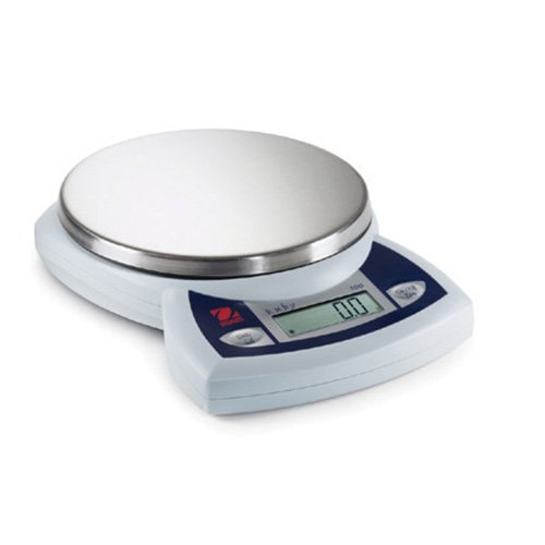 Ruby Jewelry Scale - Ohaus JR2500 Ruby Portable Jewelry Scale; 2500 g x 1 g