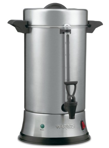 Waring Commercial WCU550 55-Cup Commercial Heavy Duty Stainless Steel Coffee Urn by Waring