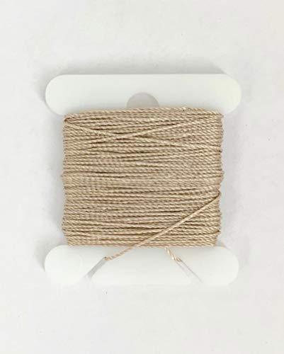 Jewelry Nylon Rigging LINE - Beige .2mm x 9m