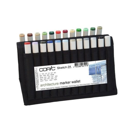 Copic Markers Sketch Architecture Sketch Wallet by Copic Marker