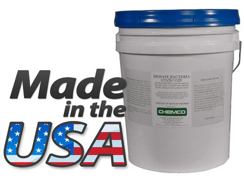Industrial Drain Maintainer -Bio Safe Bacteria By Chemco – Industrial Drain Maintainer – 55 Gallon Drum