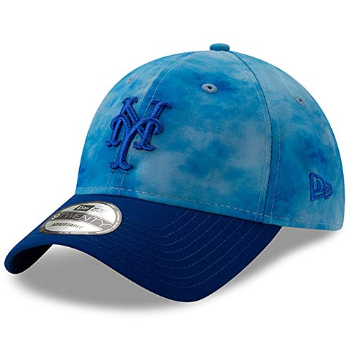 - New Era New York Mets 2019 Father's Day 9TWENTY Adjustable Hat - Blue/Royal