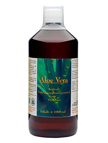 DARMVITAL Aloe Vera Trink Saft 1000 ml - IASC Zertifizierung