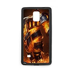 Samsung Galaxy Note 4 Cell Phone Case Black League of Legends Scorched Earth Xerath LOL-STYLE-3977