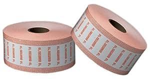 PM Company SecurIT $10 Quarter Automatic Coin Wrap Rolls, White/Orange, 1900 Wrappers per Roll, 8 Rolls per Carton (51925)