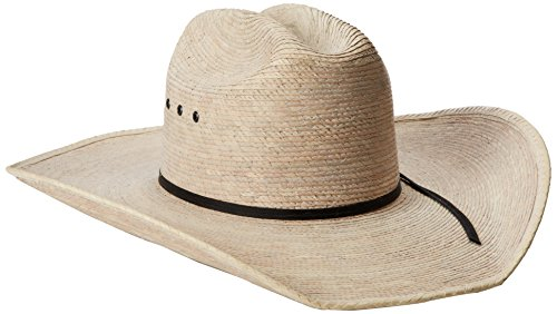 Justin Men's 20X Brush Hog Hat, Natural, 7 1/2