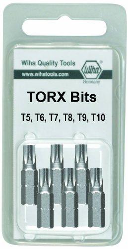 Wiha 71570 Torx Insert 6 Pack