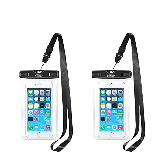 AiRunTech Waterproof Case, Waterproof Cell Phone Dry Bag Compatible for iPhone 12/11/Xs/XS Max/XR/X, iPhone 8/8 Plus/7/7 Plus/6/6s, Samsung Galaxy S9/S8/S7 and All Devices Up to 6.6 Inches