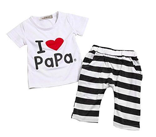 StylesILove Unisex Baby I Love Mama or