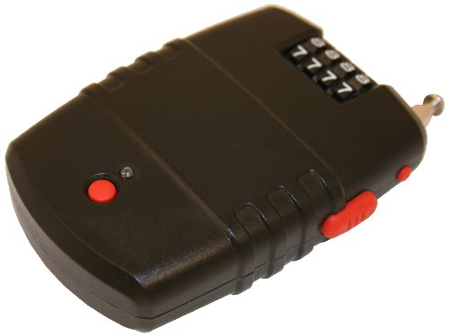 FJM Security SX-776 Cable Lock Alarm with Piercing 120 Decibel (Alarm Lock)