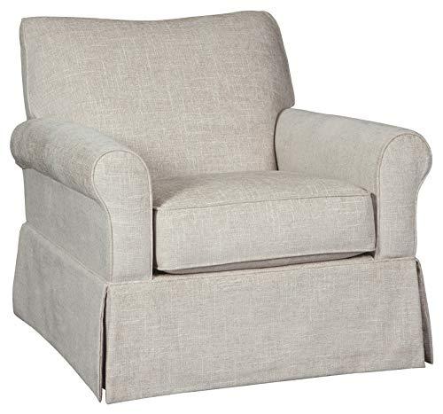 Signature Design by Ashley A3000006 Searcy Swivel Glider Accent Chair, Quartz