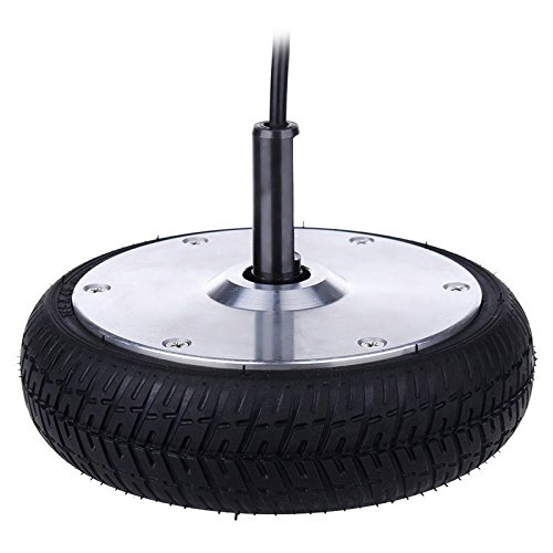 HoverFixer® 350W Power Motor Wheel & Tire 6.5'' inch, Fix your not working Motor - Replacement Part for Electric Self Balance Scooter, Easy DIY Repair