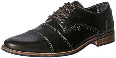 Wild Rhino Men's Manchester Shoes, Black, 7 AU (41 EU)