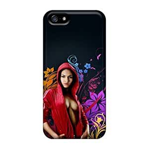 Mialisabblake Perfect Tpu Case For Iphone 5/5s/ Anti-scratch Protector Case (red Riding Hood)