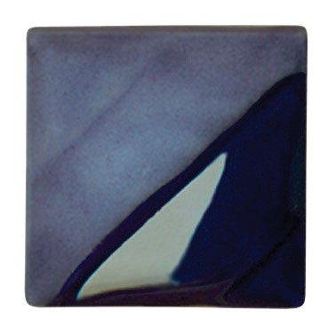 AMACO Velvet Lead-Free Non-Toxic Semi-Translucent Underglaze, 1 Pint, Royal Blue V-336