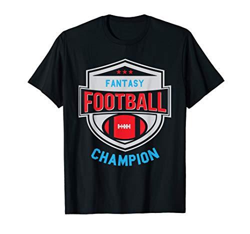 Fantasy Football Champion - League Champ - Winner Quote T-Shirt ()