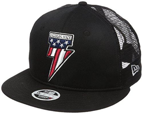 Metal Mulisha Women's American Made Trucker, Jet Black, One Size (Metal Mulisha Women Hats)
