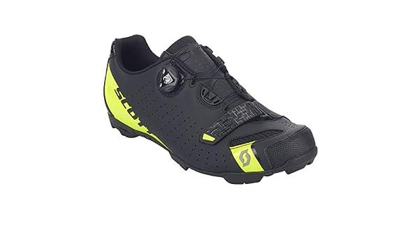 Scott MTB Future Pro 2019 - Zapatillas de Ciclismo para niños, Color Negro y Amarillo: Amazon.es: Deportes y aire libre