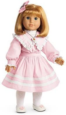 """American Girl 18/"""" Doll Nellie Holiday Outfit Coat ONLY Retired"""