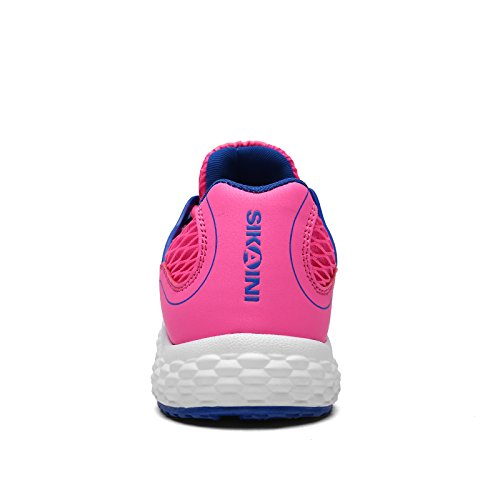 Men's sports shoes training shoes breathable comfortable fitness mesh shoes casual outdoor shoes neutral Rose Red Mv68CQAI6