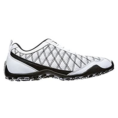 FootJoy Women's Summer Series Spikeless Golf Shoes (10, White/Black)
