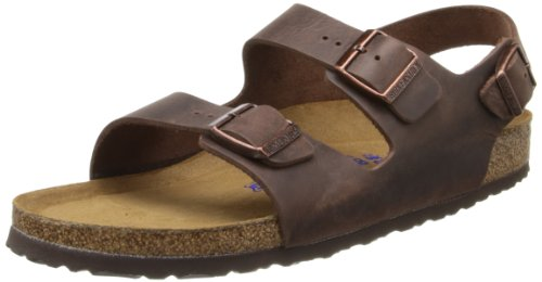 Birkenstock Women's Milano SFB Leather,Habana Oiled Leather,44 EU/M11 M US (Birkenstock Milano Leather)