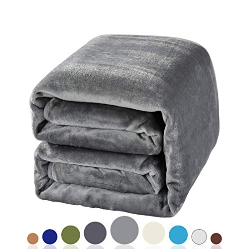 Balichun Luxury 330 Gsm Sherpa Fleece Blanket Super Soft Warm Fuzzy Lightweight