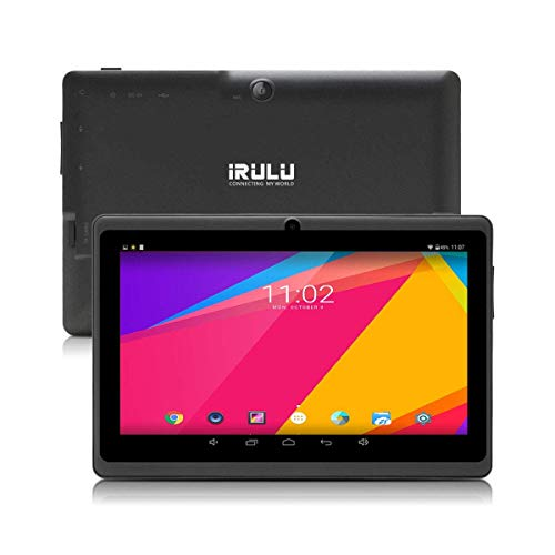 7 inch Tablet Google Android 8.1 Quad Core 1024×600 Dual Camera Wi-Fi Bluetooth,1GB/8GB,Play Store Netfilix Skype 3D Game Supported GMS Certified (Black)