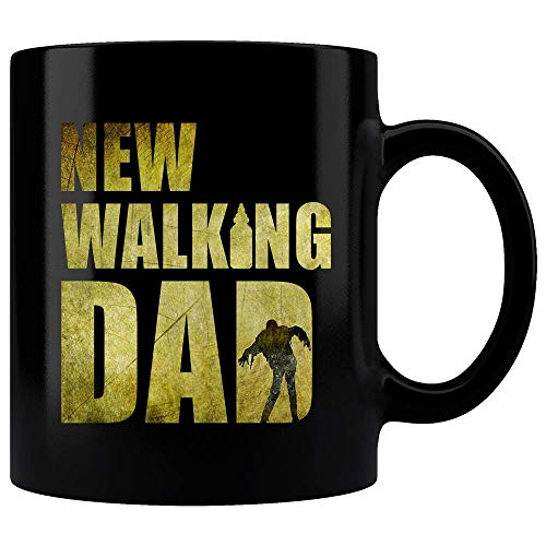 New Walking Dad Mug, Walking Dad Zombie Mug, The Walking Dead Parody, Halloween Mug, Birthday Gift, Witch Slogan Mug, Zombie Mug, Funny Mug, Coffee -