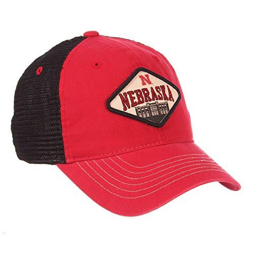 Zephyr Nebraska Cornhuskers Official NCAA Roadside Snap Back Adjustable Hat Cap 725030