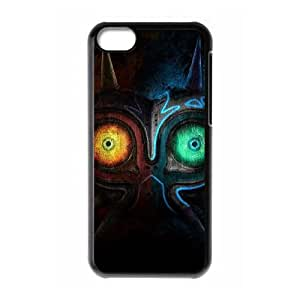 iPhone 5c Cell Phone Case Black The Legend of Zelda Majora's Mask 005 Etbmq