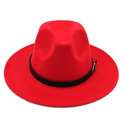 Elee Men Women's Wool Blend Panama Hats