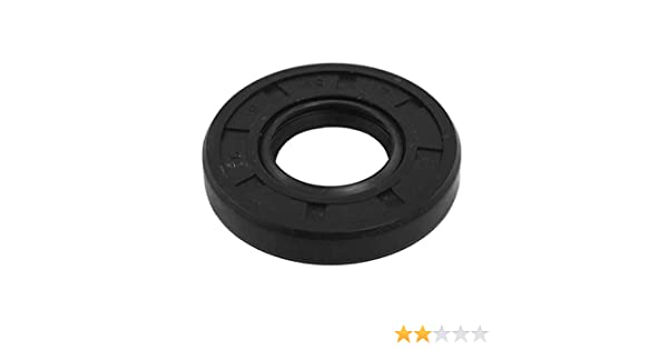 Oil and Grease Seal TC8x19x7 Rubber Covered Double Lip w//Garter Spring