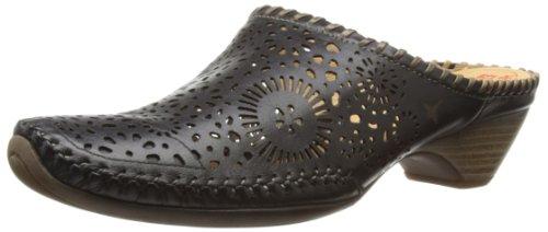 Pikolinos Tabarca 818-8807_v13 - Zapatos de tacón de cuero mujer negro - Schwarz (BLACK-DF)