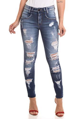 Calça Jeans Denuncia New Skinny Azul 36