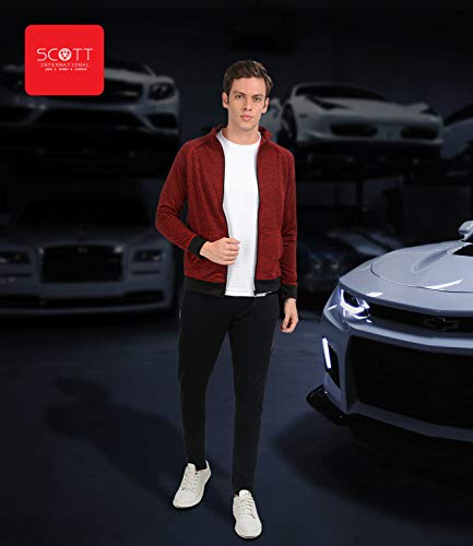 Scott International Men's Plain / Solid Regular Jacket