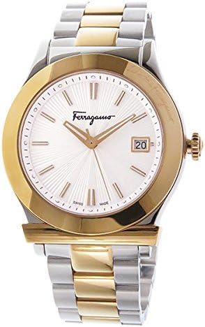 サルヴァトーレ フェラガモ Ferragamo フェラガモ1898 クオーツ 腕時計 FF3070014 シルバー【メンズ】 [並行輸入品]