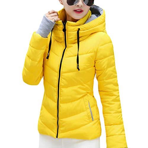 Outwear Overcoat Padded M Cotton Lightweight Warm 1 Winter Coat Slim Zip Down 3XL Up Juqilu Women Jacket Bw7Oq6WXc